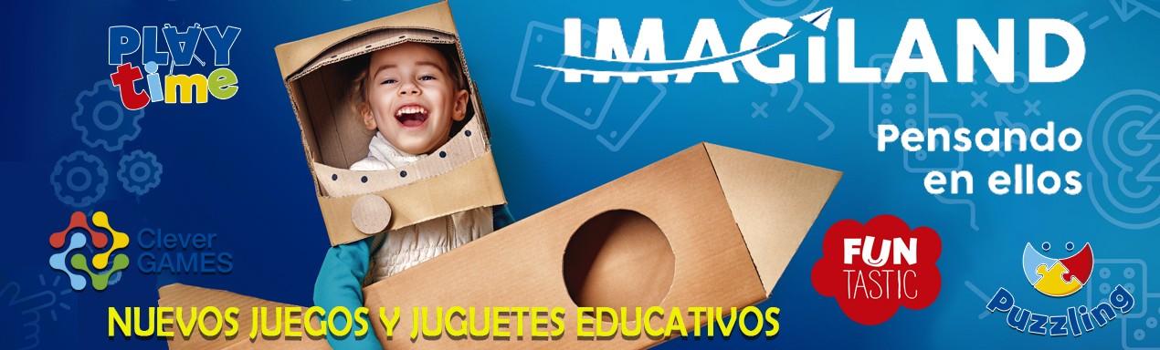 IMAGILAND JUEGOS EDUCATIVOS - NOVEDADES